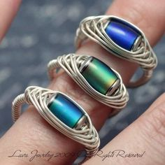 Wired bracelets, gotta love chunky jewelry!