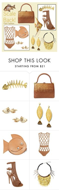 """Scale Back!"" by whirlypath ❤ liked on Polyvore featuring Chanel, Bottega Veneta, Kate Spade, Anastazio, Sandqvist and Posh Girl"