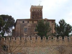 Vista del castillo de Benisanó, donde fue encarcelado el rey. :: lp