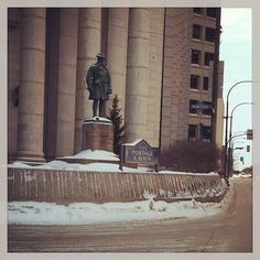 The corner of Portage & Main in Winnipeg another historic reminder of our Winnipeger roots. Canada, Best Fan, Toronto Maple Leafs, City Life, Old Houses, My House, Roots, Maine, Corner