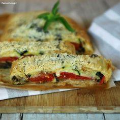Strudel salato alla parmigiana http://blog.giallozafferano.it/passionecooking/strudel-salato-alla-parmigiana/