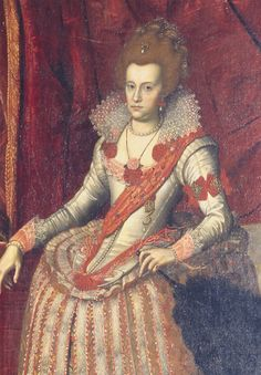 1612 Unknown artist Anna Catherine Queen of Denmark 17th Century Fashion, 17th Century Art, House Of Stuart, Danish Royalty, Old Portraits, Great Women, Historical Clothing, Women's Clothing, Female Portrait