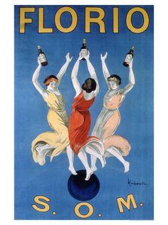 Florio O.M.  by Leonetto Cappiello