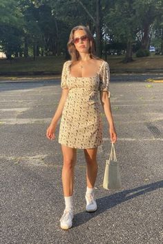 Trendy Summer Outfits, Cute Casual Outfits, Cute Summer Clothes, Urban Dresses, Trendy Dresses, Indie Outfits, Fashion Outfits, Teen Outfits, Dress Outfits