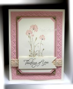 Nice Serene Silhouettes card found on the blog of Chat Wszlekaki: Me, My Stamps and I