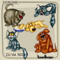 CU Vol 503 Dog and Cat