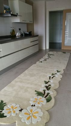 Mutfağınıza özel halınız