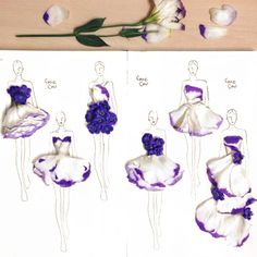 Flower couture design, Grace Ciao