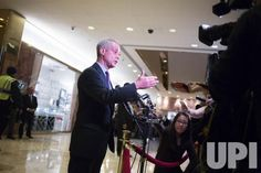 Mayor of Chicago Rahm Emanuel speaks to members of the media at Trump Tower in New York City on December 7, 2016. U.S. President-elect…