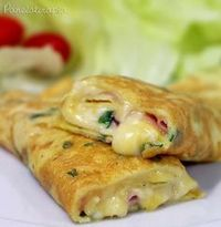 Receita de almoço para a segundona: Aprenda a fazer panqueca de omelete http://r7.com/NmXK