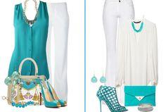 outfit-color-turquesa al Color Turquesa, Casual Looks, Womens Fashion, Polyvore, Outfits, Image, Google, Vestidos, Blue Nails
