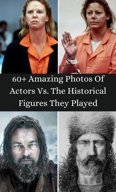 What is the one thing that actors do the best? Pretending to be someone that they're not, of course. #60+ #AmazingPhotos #Actors #HistoricalFigures