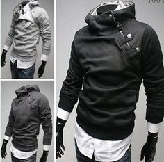 New Big Discount Men's Hoodie Jacket Mens Sport Men Sportswear Brand Coat Outdoor Hip Hop Sweatshirt Suit Jackets For Tracksuits $16.99