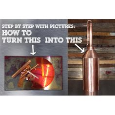 This article describes the process of building an all-purpose copper still. If you have some fabrication experience, you can make your own parts use the followi