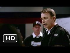 Friday Night Lights - Being Perfect Speech (kind of a spoiler). I love this movie - it's a true story based on a book. A journalist studied this town for years. I hate football but this movie is incredibly nuanced and offers a fascinating look into small towns as well as truths about pressure, family, love and the human experience. It's beautifully made.