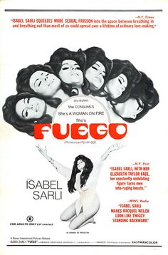 Dangerous Minds | John Waters loves it: You must see Isabel Sarli as the tortured nympho in 'Fuego'