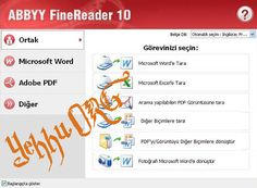 Abbyy Finereader V10.0.102.95 Pro Türkçe Full