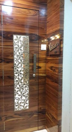 Wooden doors by homify, modern , Here you will find photos of interior design ideas. Get inspired! Flush Door Design, Front Door Design Wood, Grill Door Design, Wooden Door Design, Door Grill, Wooden Doors, Modern Entrance Door, Home Entrance Decor, Modern Exterior Doors