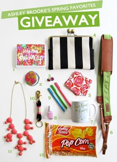 Ashley Brooke's 2013 Spring Favorites Giveaway