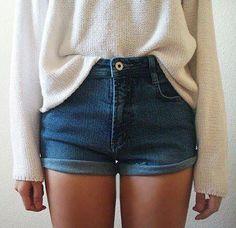 High waisted shorts!
