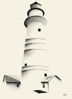 Boston Light Lighthouse Art Marine Harbor Lake Ocean Water   eBay