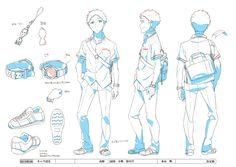 HILL CLIMB GIRL - 日本アニメ(ーター)見本市 / 高野 三面図 小物 影付け / #米山舞