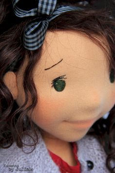 Waldorf inspired doll Zuzanna 1846cm Handmade Art by julilale