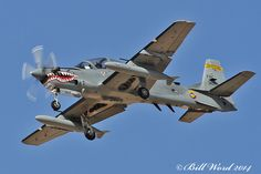 Embraer 314 A-29B Super Tucano FAC 3109 Colombian Air Force a