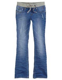 Knit Waist Boot Cut Denim Jeans | Bootcut | Jeans | Shop Justice
