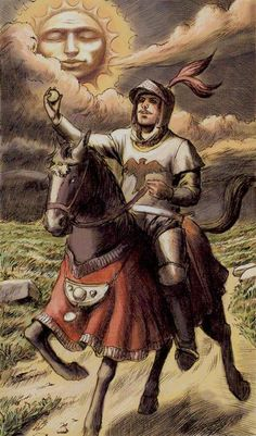 Knight of Coins aka Pentacles Tarot of Ascension