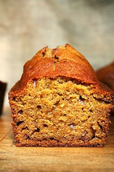 I just made the pumpkin bread and it is so good. Definitely a keeper!   9 pumpkin recipes- Cup of Jo