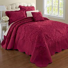 Brylanehome Amelia Bedspread (Crimson,King) BrylaneHome http://www.amazon.com/dp/B010DY49TA/ref=cm_sw_r_pi_dp_lULAwb0DJK9AA