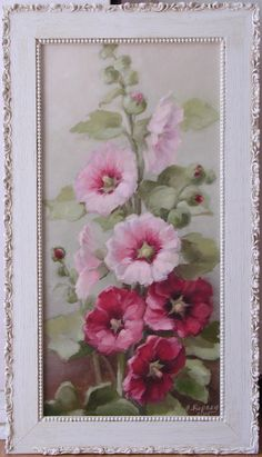 My Daddy always had single bloom hollyhocks in his garden. Seeing them in my own garden always takes me back to the day he showed me how to make hollyhock dolls. I miss my Dad. But I see his twinkling eyes and smile each time a hollyhock nods its head when I walk in the garden...