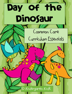 This 127 page unit, Day of the Dinosaur, is strategically linked to the Common Core Standards.