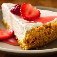 A great no bake cheesecake that's perfect for summer parties.