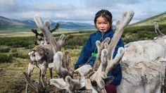 girl, Tsaatan tribe, northern Mongolia (Credit: Credit: Jarryd Salem)