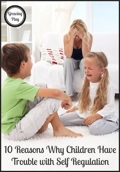 Growing Play: 10 Reasons Why Children Have Trouble with Self Regulation