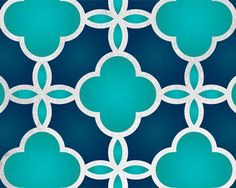 would make a neat gloss/matte pattern - using one color, just different finishes. Moroccan Wall Stencils, Large Wall Stencil, Stencil Patterns, Stencil Designs, Diy Wall Painting, Design Seeds, Textures Patterns, Gloss Matte, Decoration