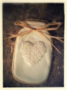 Mason jar cookies we had at my bridal shower....thanks Jessica :-)