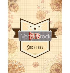 Free oktoberfest celebration with label vector