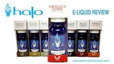"Halo Cigs: V-Type ""Kringle's Curse"" E-Liquid Review"