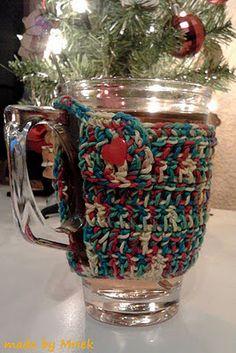 Crochet tea cup cozy