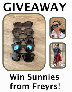 MyStyleSpot: You're going to LOVE these Sunnies + a GIVEAWAY: Freyrs