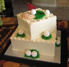 Who Made The Cake (Bakery) Golf Wedding Cake