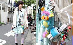 tokio street fashion- toys!