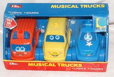 NEW Musical Trucks 18+ Months | Toys & Hobbies, Diecast & Toy Vehicles, Other Vehicles | eBay!