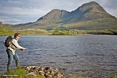 Fishing - Best Trout Lochs & Rivers in West Sutherland - Loch Sionascaig Trout Fishing, Fly Fishing, North Coast 500, Brown Trout, Rivers, West Coast, Scotland, Mountains, Travel
