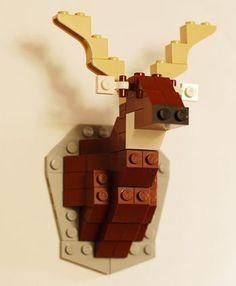 Build a LEGO Deer Bust