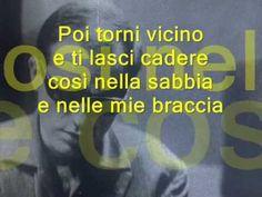 Gino Paoli - SAPORE DI SALE - Lyrics (Learn Italian singing)