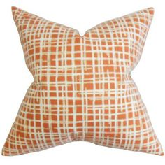 The Pillow Collection Onslow Plaid Throw Pillow Cover Color: